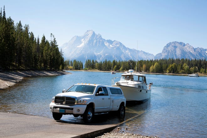 Always complete all prep work first in the staging area – out of the way of a ramp where other boaters are launching. When it's your turn, get the boat in and your vehicle out as soon as possible.