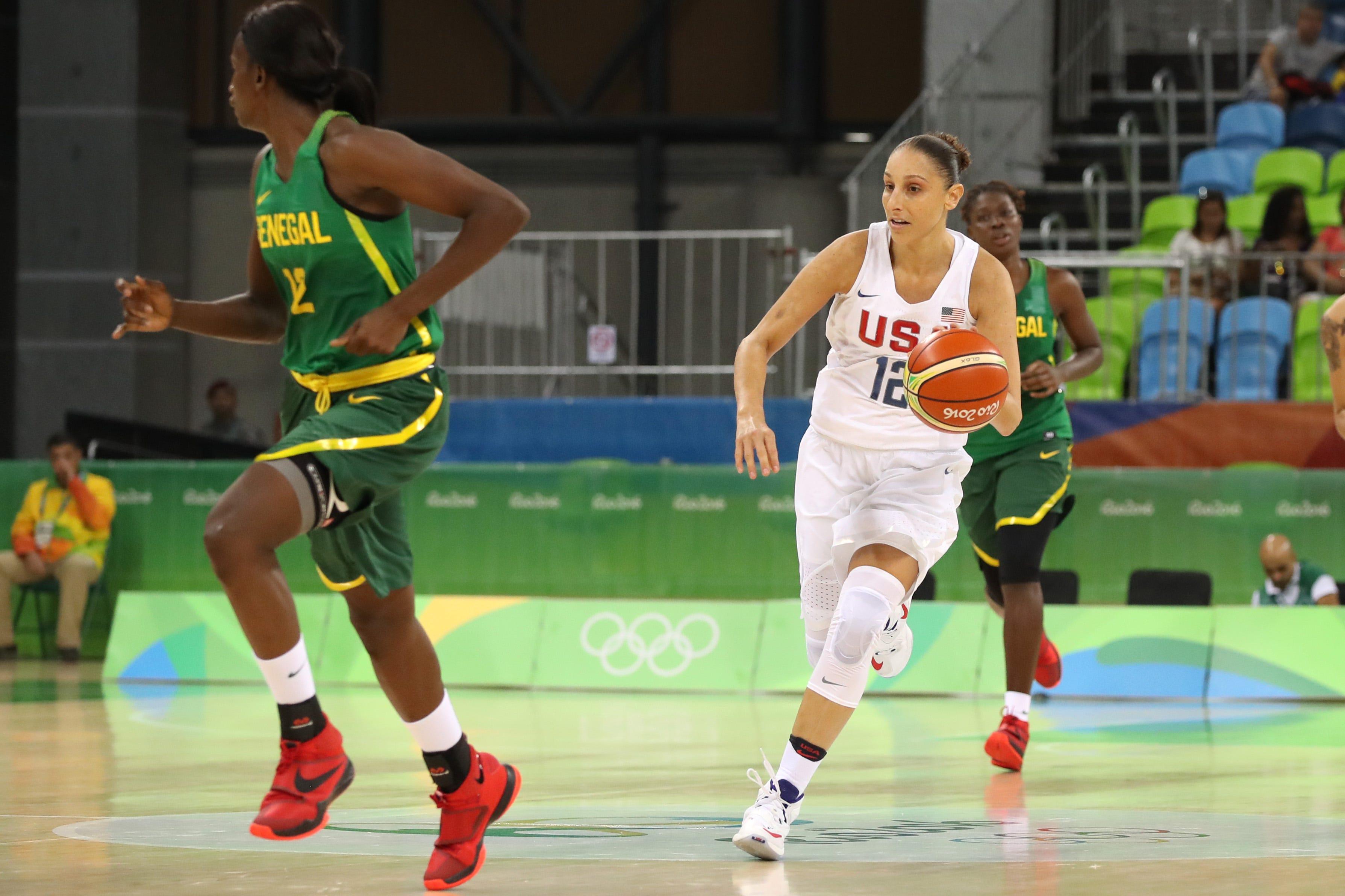 U.S. Olympic women's basketball coach Dawn Staley 'not nervous' over Diana Taurasi injury
