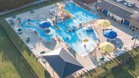 The Camp Bowie Family Aquatic Center is one of Brownwood's most popular summer attractions.
