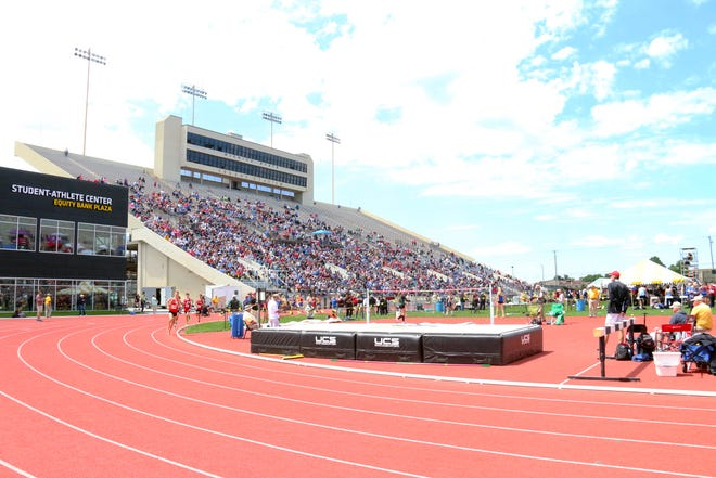 Cessna Stadium, home of the Kansas high school state track and field meet