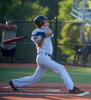 Blake Marsh, shown here playing for Randolph County's NC3 team last summer, is second on Southwestern Randolph in runs scored with 10. Marsh and the Cougars have a big series with rival Asheboro this week. [Special to the Courier-Tribune/PJ WARD-BROWN]