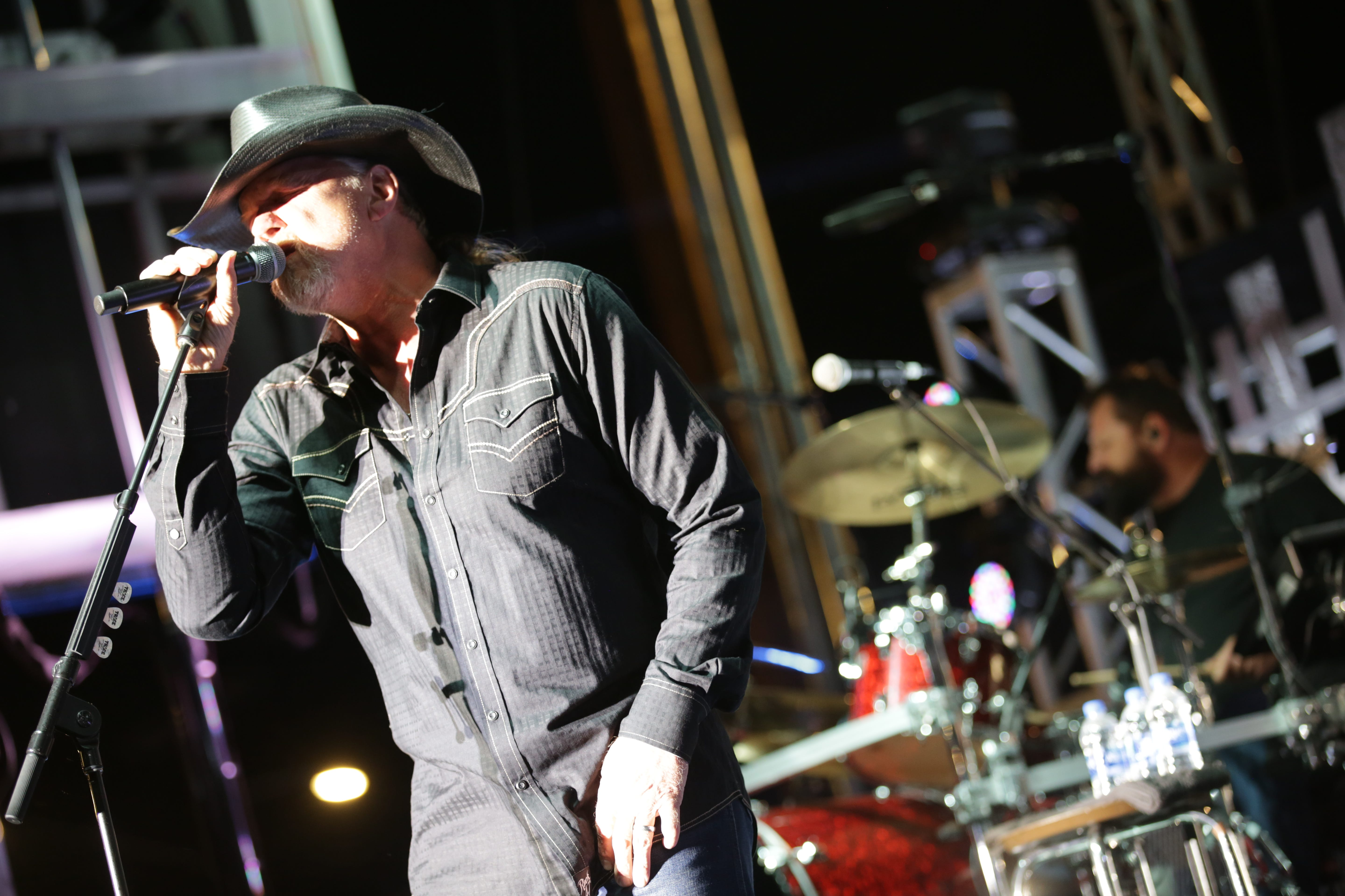 Trace Adkins, Lonestar performing at St. Augustine Amphitheatre on Dec. 2