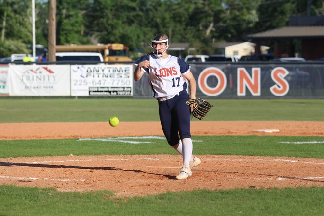 Ascension Christian pitcher Maddie Gautreau is the District 7-1A MVP.