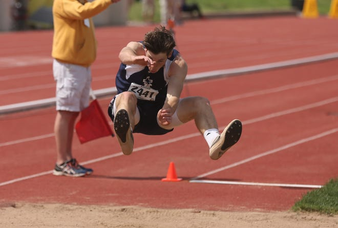 TMP's Marian Jace Wentling claimed a Class 3A state championship in the long jump.