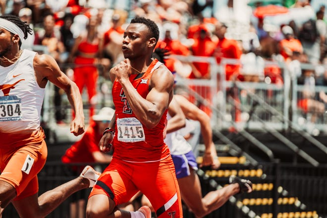 Texas Tech sprinter Courtney Lindsey qualified for the NCAA outdoor championships in the 100 meters, the 200 meters and as the first leg on the Red Raiders' 400-meter relay. The junior from Rock Island, Illinois, ran wind-legal times of 10.15 seconds in the 100 and 20.24 in the 200 during the NCAA West Preliminaries on Saturday in College Station.