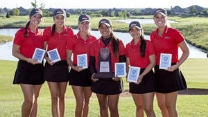 The Southeastern women's golf team finished third overall at the NAIA Women's Golf Championship.