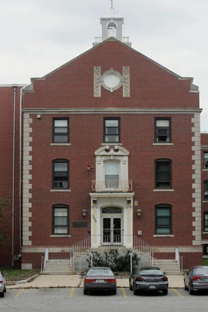 The main hospital building at the Zambarano Unit of the Eleanor Slater State Hospital in Burrillville.