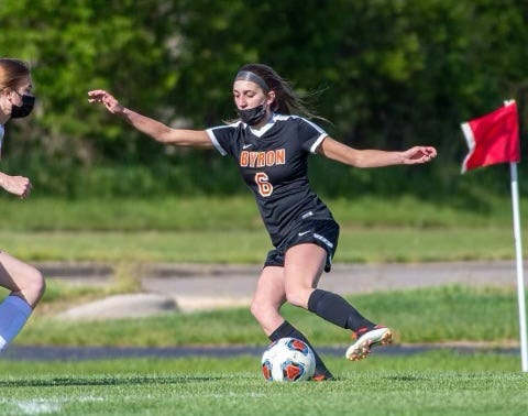 Byron forward Anika Roush had six goals in two games last week as the Tigers finished off the regular season on a hot streak, soaring to 11-3 headed into the postseason.