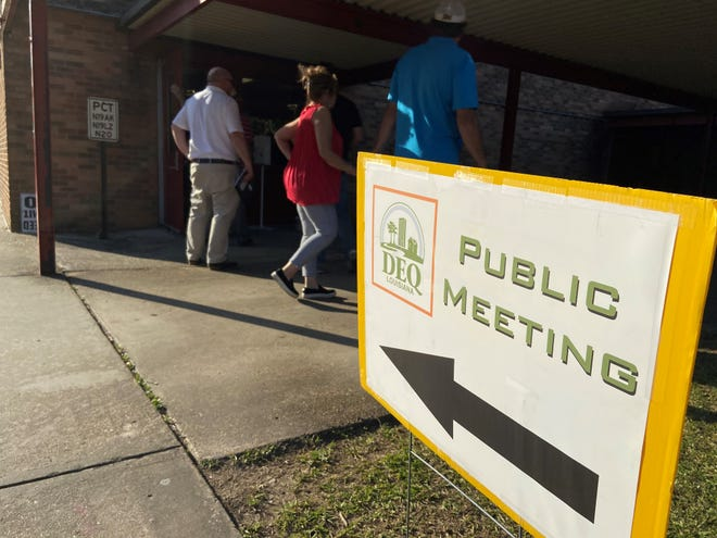 Residents who live near the former Dresser plant wanted answers Thursday night at a public meeting about contamination at the site and surrounding area, but many thought the information provided wasn't sufficient.