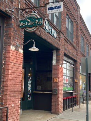 A May 29 shooting at the Westville Pub on Haywood Road left two people injured and one man dead.