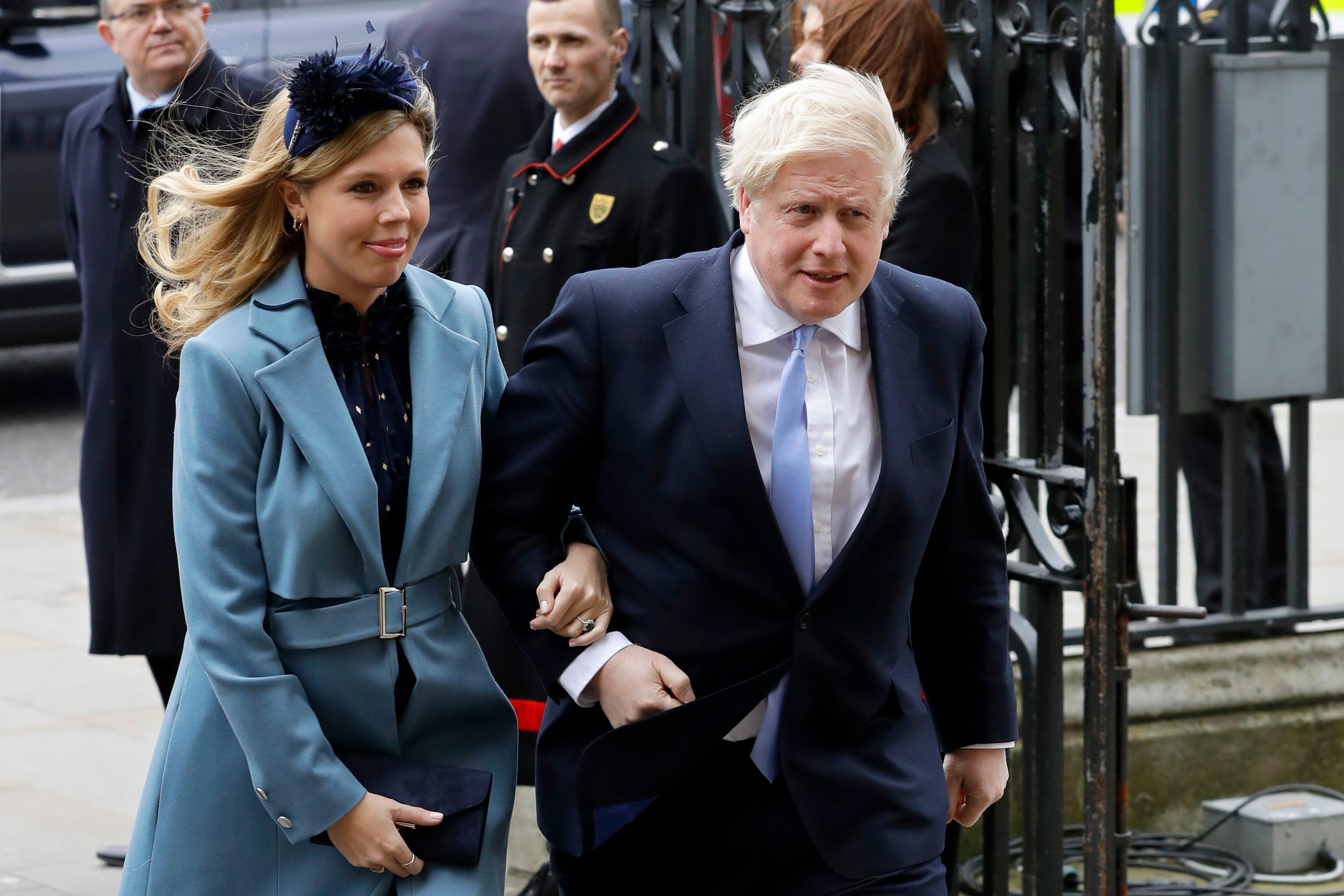 Reports: Boris Johnson, fiancée Carrie Symonds wed in London 2