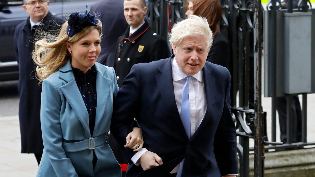 Reports: Boris Johnson, fiancée Carrie Symonds wed in London 3