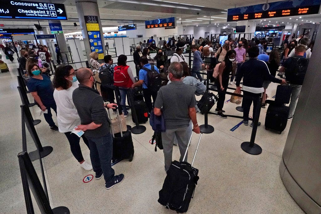 Travel numbers climb as Americans hit the road for holiday 2