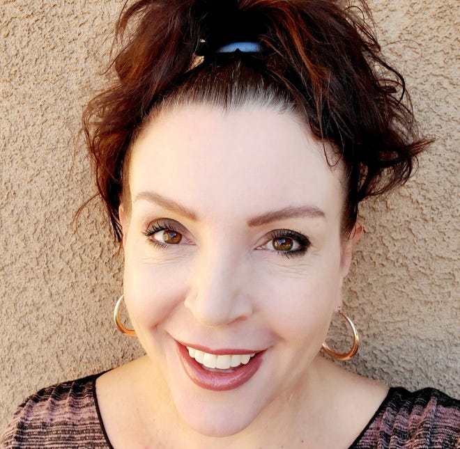 """Anna Nelson, New Mexico State University social work college assistant professor, was a recipient of the 2020 """"A"""" Mountain Staff Award."""