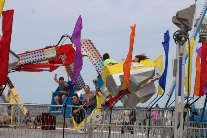 """Rides remained a popular attraction at the Walleye Festival, which opened for """"Part 2"""" on Thursday night and continues through Sunday."""