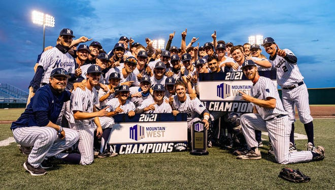 The Nevada baseball team claimed the Mountain West title Friday night by beating San Jose State.