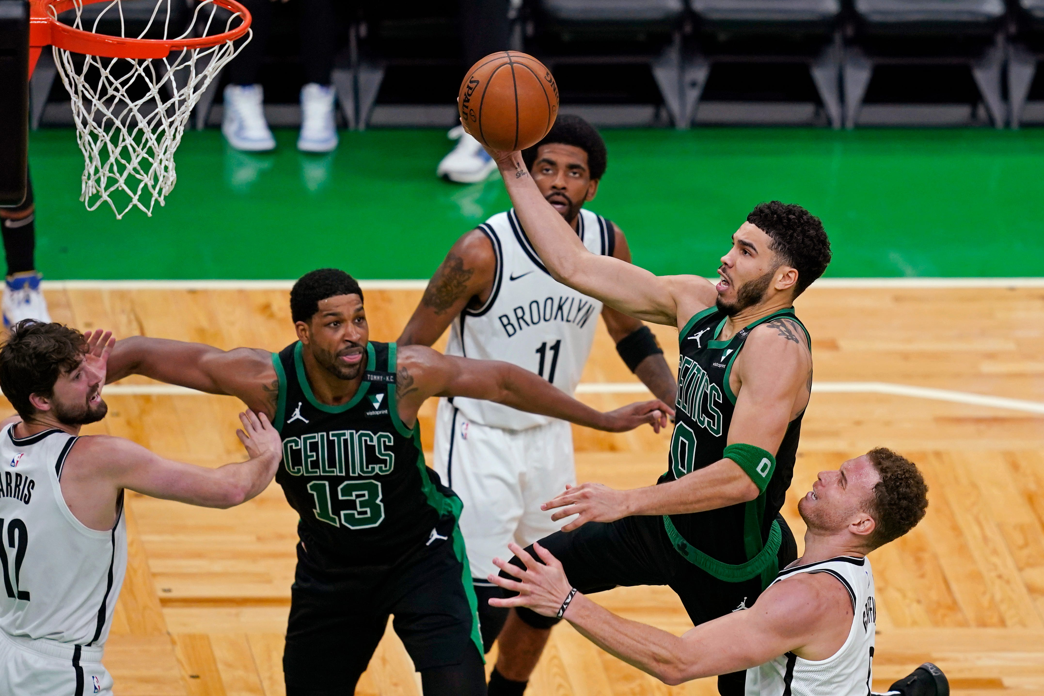 Celtics hold off Nets behind Jayson Tatum s 50 points to cut series deficit to 2-1