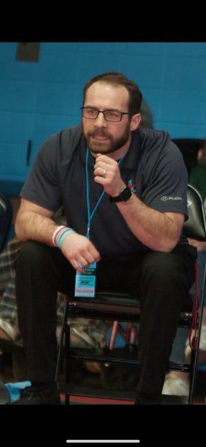 Joe Richardson, Alliance High's new head wrestling coach.