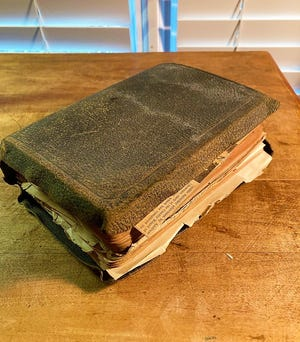 A century-old Bible and what it says about the man who read it.