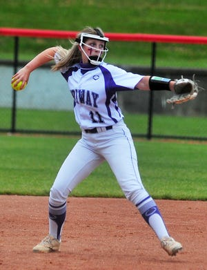 Haylee Pruitt and Triway play Lakewood in their first state semifinal ever.
