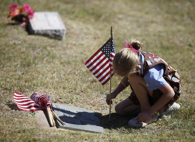 Resthaven will host a Memorial Day service at 10 a.m. Monday at its location on 19th Street.