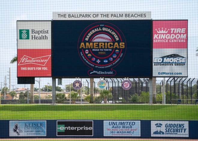 The Baseball Americas Qualifier for the Summer Olympics will feature 16 games at The Ballpark of the Palm Beaches and Clover Park over the next week.