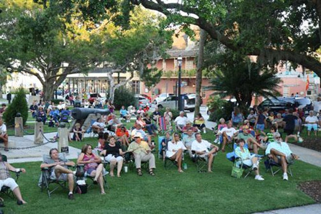 The Ancient City Slickers will open the Concerts in the Plaza summer concert series at 7 p.m. Thursday, June 3, at the gazebo in Plaza de la Constitución between Cathedral Place and King Street. The concerts are free to attend.