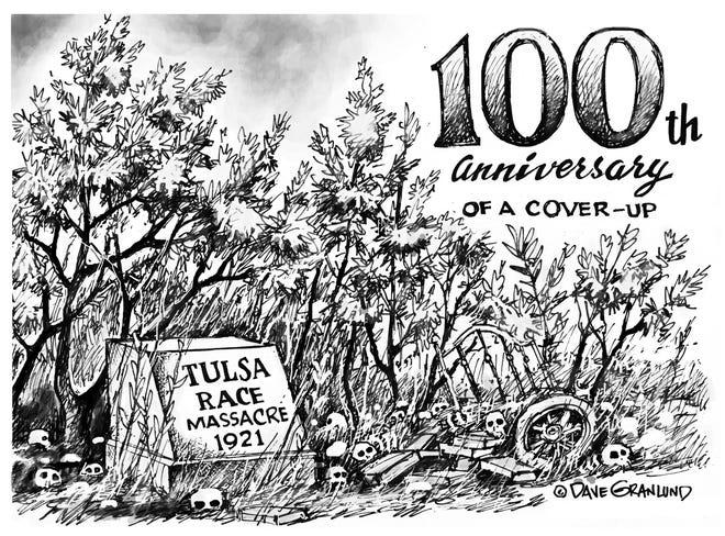 EDITORIAL CARTOON: Tulsa Race Massacre