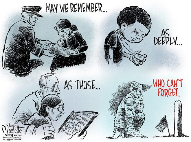 MEMORIAL DAY: Remember not to forget what others gave