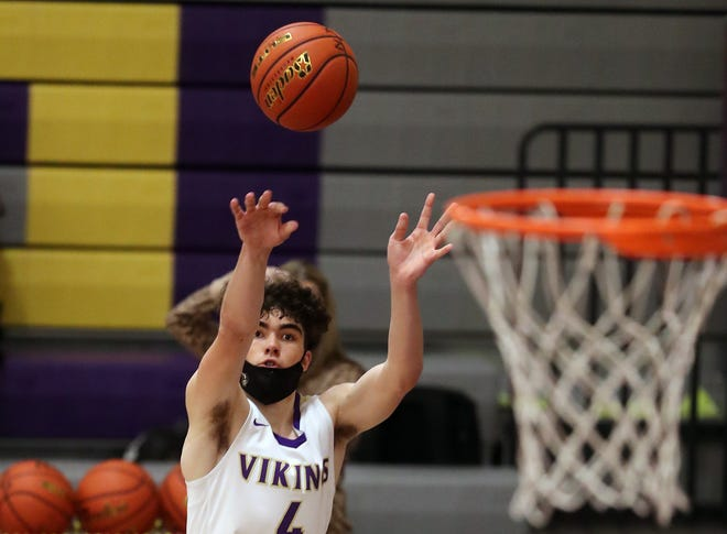 North Kitsap's Jonas La Tour averaged 26.7 points for the Vikings this season. The junior earned Olympic League most valuable player honors.