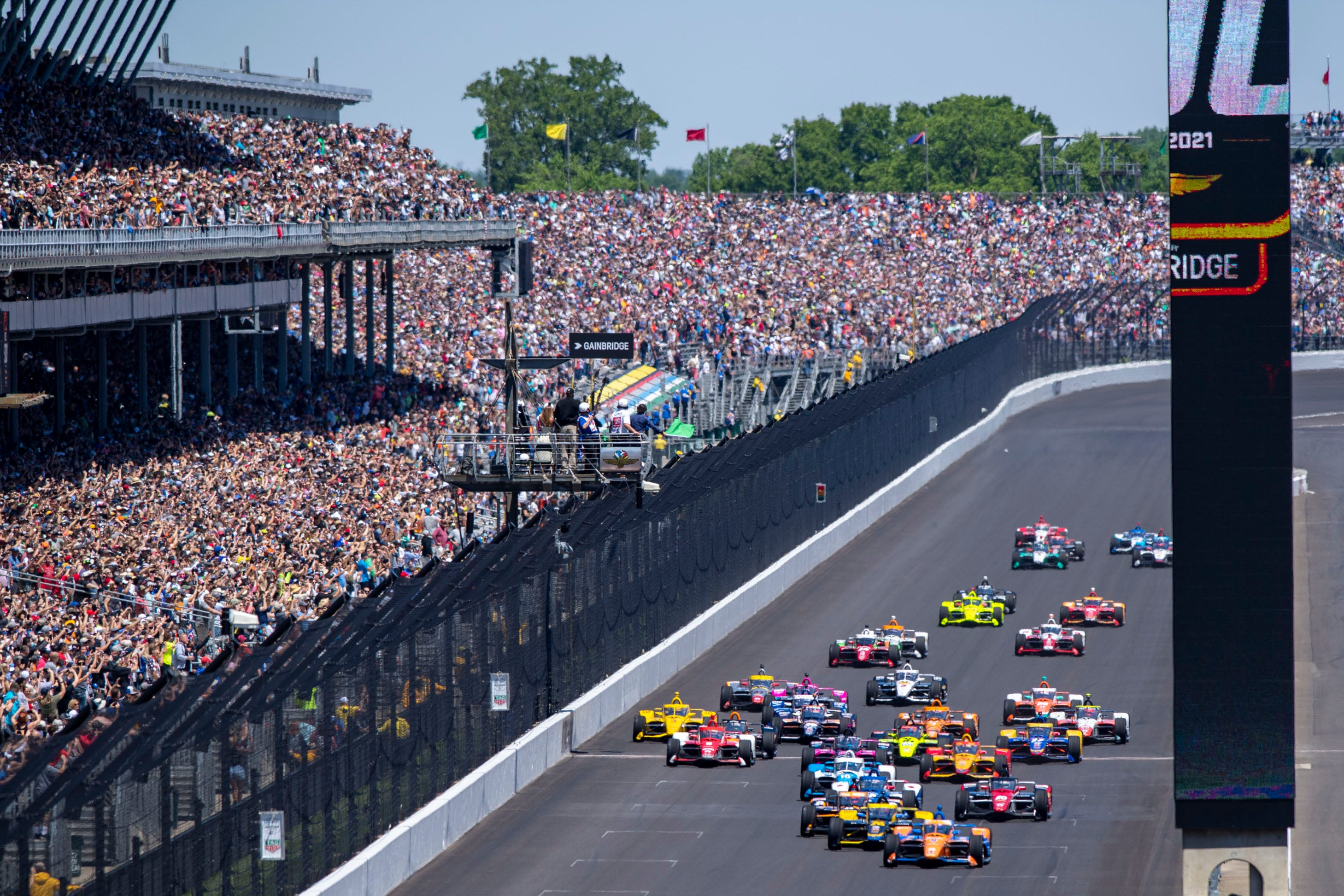 Best photos from the 2021 Indy 500 at Indianapolis Motor Speedway