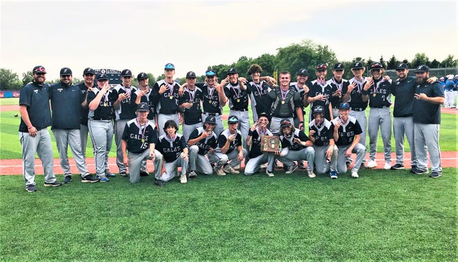 The Lancaster baseball team captured their third consecutive Division I Central District championship by defeating Grove City, 2-1 in 11 innings. The Golden Gales (25-5) will play New Albany in a regional semifinal at 2 p.m. Thursday at Dublin Coffman High School.
