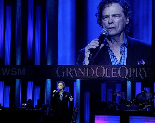 B.J. Thomas performs April 11, 2014, at the Grand Ole Opry in Nashville, Tennessee.
