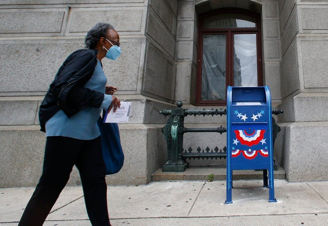 A contingent of right-wing Republicans says the grants were fundamentally unfair because Democratic-leaning counties got more money. Election directors in those areas used those funds to offer voters additional ways to cast a ballot, such as by opening satellite offices and making drop boxes available.