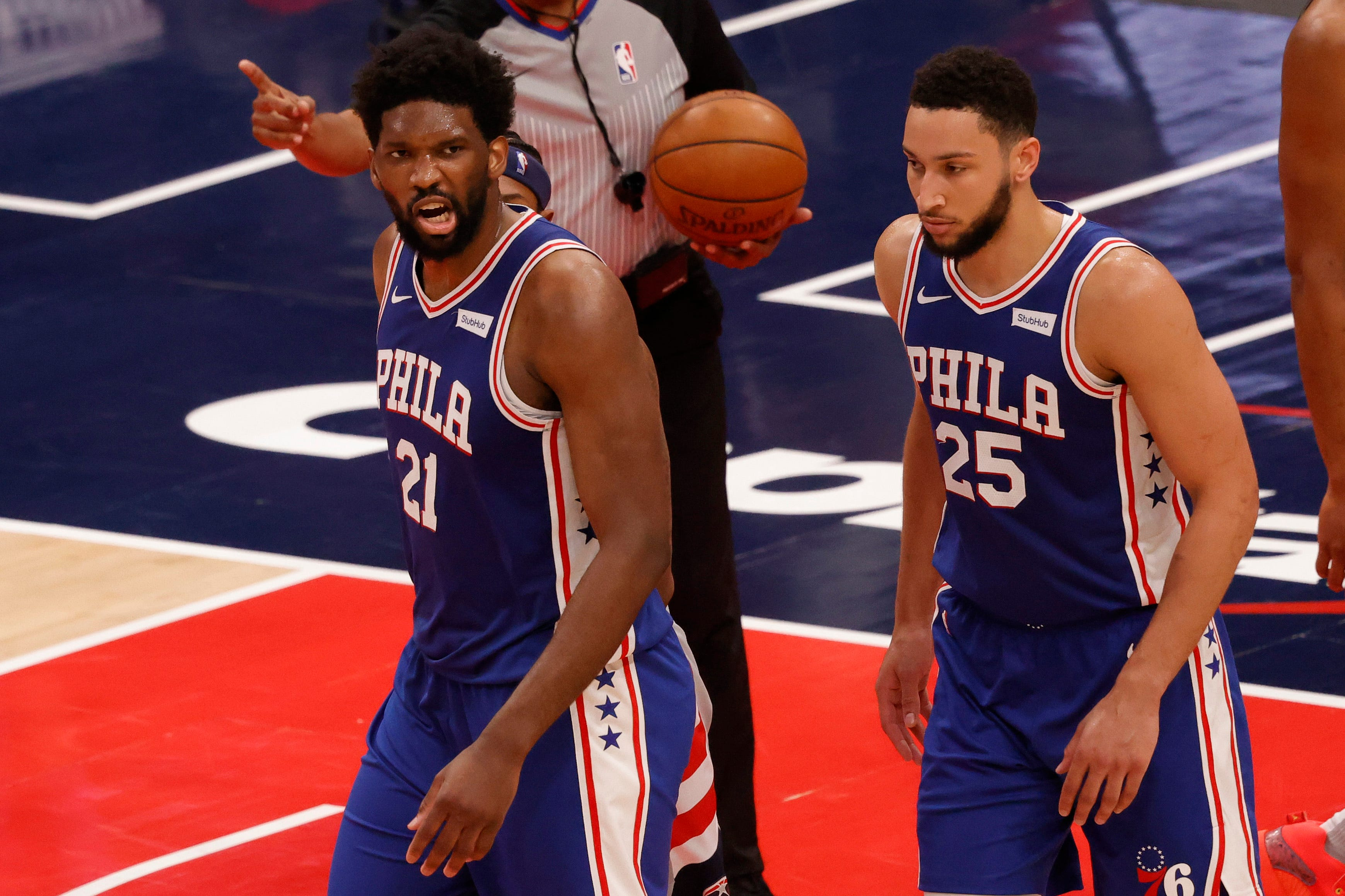 Sixers rout Wizards for 3-0 series lead but not celebrating: 'We've done nothing'