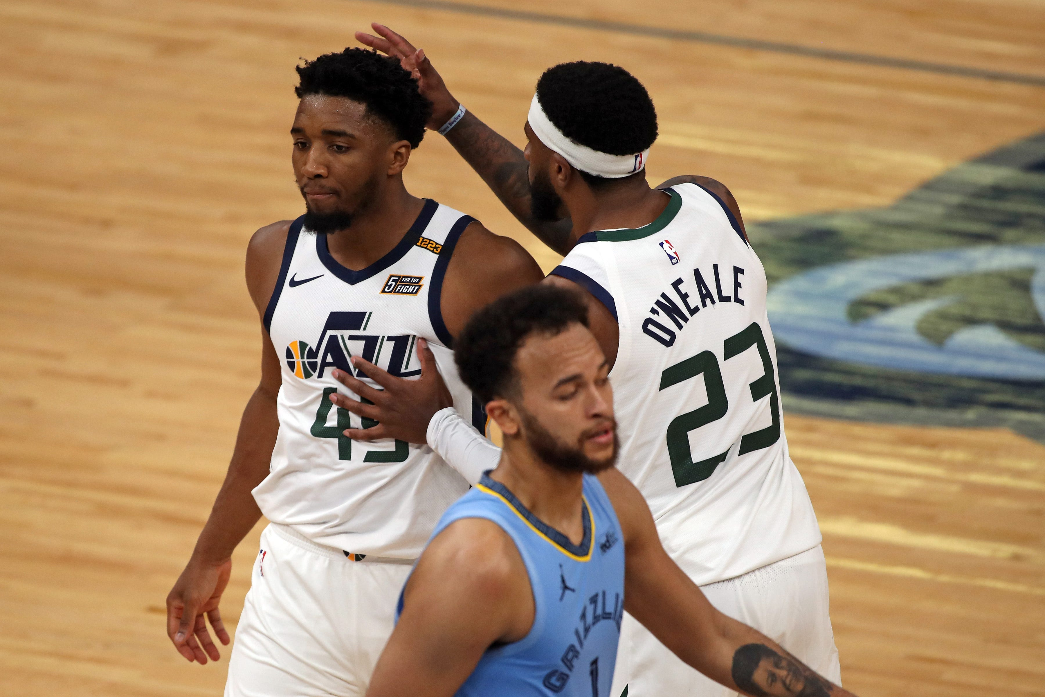 NBA playoffs: Jazz math problem just doesn't add up for Grizzlies as Utah takes 2-1 series lead