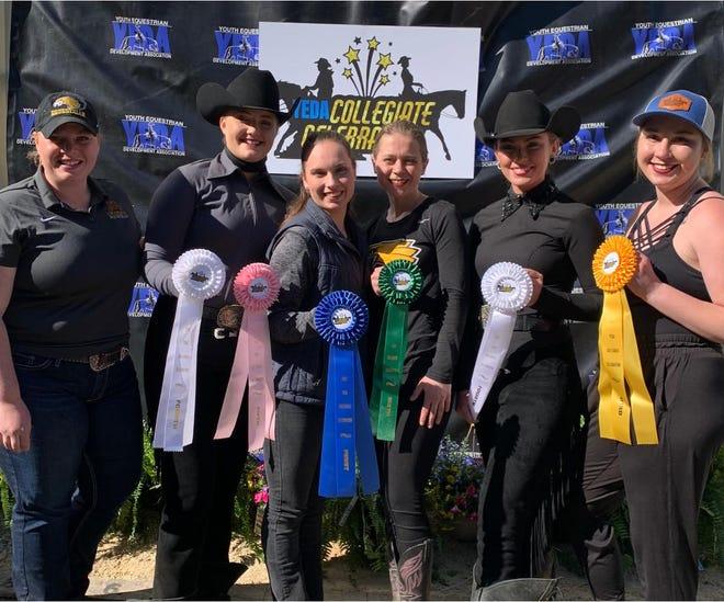 The Minnesota Crookston western equestrian team