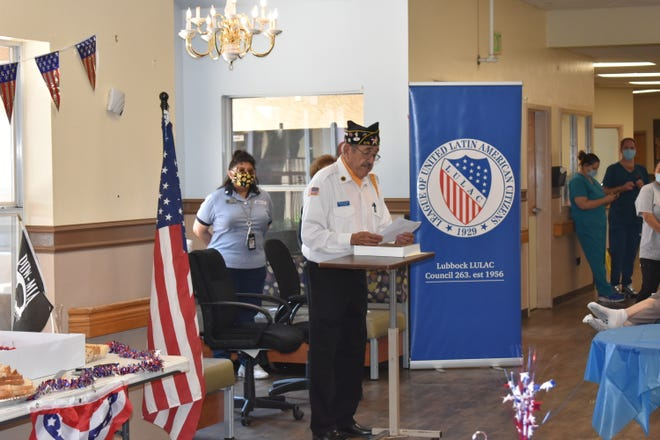 On Friday,Bender Terrace Nursing & Rehabilitation Center along with the local chapter of the League of United Latin American Citizens, hosted a Memorial Day service.
