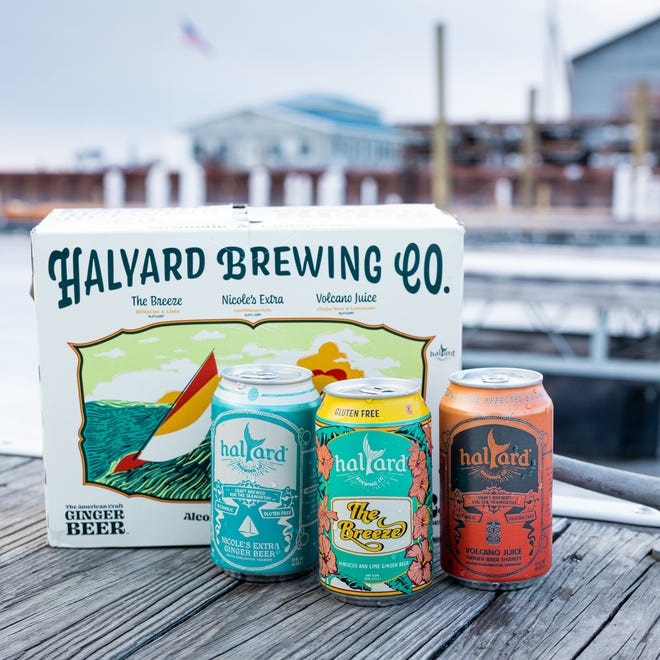"""The Halyard Brewing Co., located in South Burlington, Vermont, brews alcoholic or """"hard"""" ginger beer."""