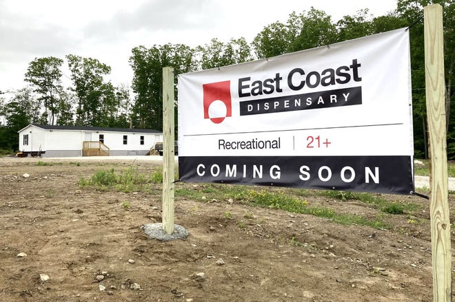The owners of East Coast Cannabis in Eliot, Maine, are hopeful their retail store for recreational marijuana will get final approval and open this week.