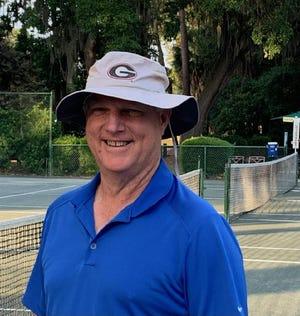 Savannah Christian tennis coach Sandy Shepherd