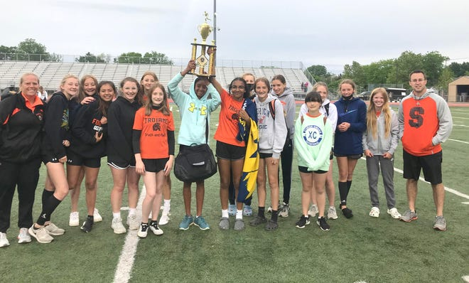 The Sturgis Middle School girls won a regional championship in track and field last week.