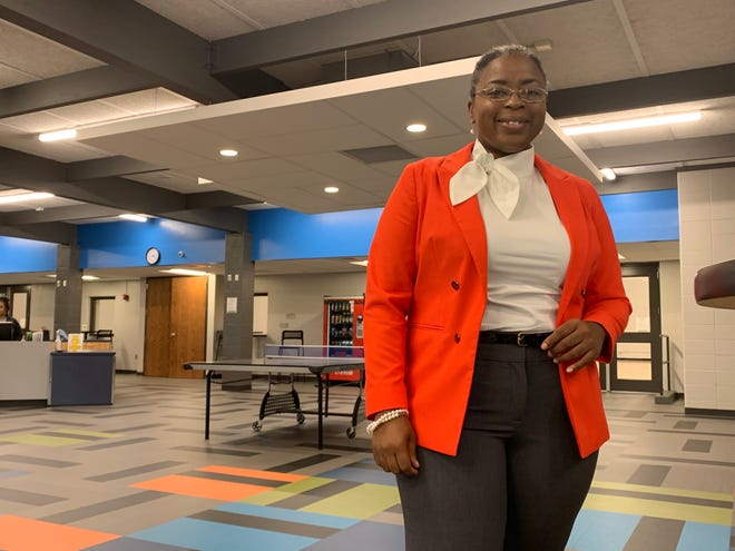 Regina Platt announced her candidacy for Topeka City Council on Friday at the Hillcrest Community Center.