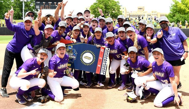 James Madison qualified for the first time after topping Missouri twice in a best-of-three super regionals.