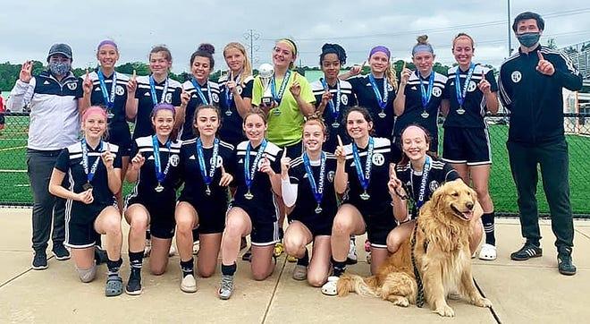 The U19 Epic Freedom Patriots girls soccer team won the Williamsburg Memorial Day Invitational.