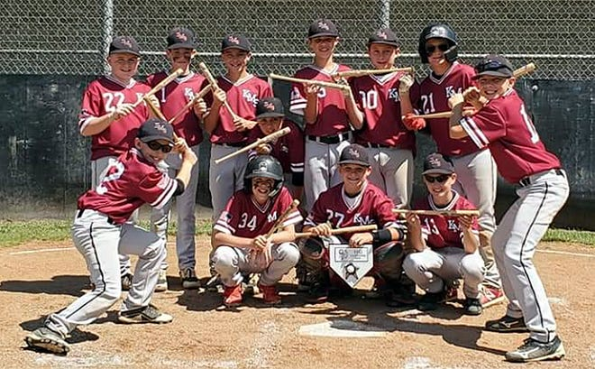 The 11U KMS Barnstormers, based in Clear Spring, went 4-0 to win the Stars and Stripes tournament in Hagerstown.