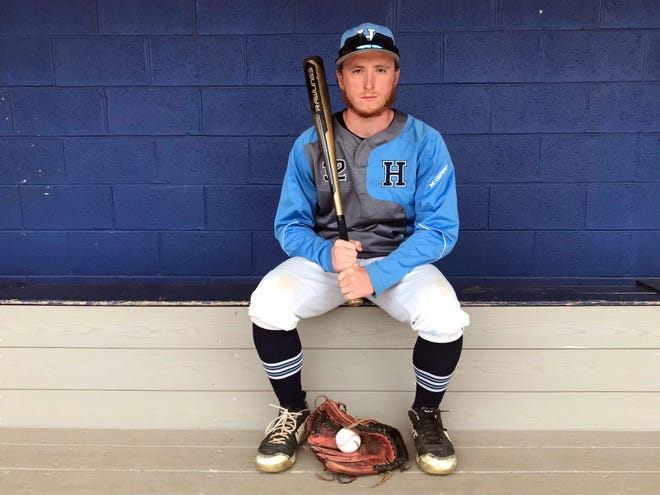Highland senior Danny Robeson has delivered with his bat and his arm as the Tartans have won seven of their last eight games entering the postseason.