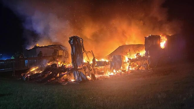 A teen has been charged with arson after a fire at the Miami Valley Christian Academy Monday.