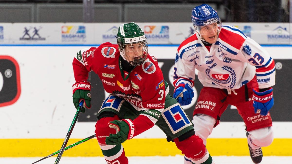 Swede Simon Edvinsson may follow teammate Lucas Raymond to Detroit 1
