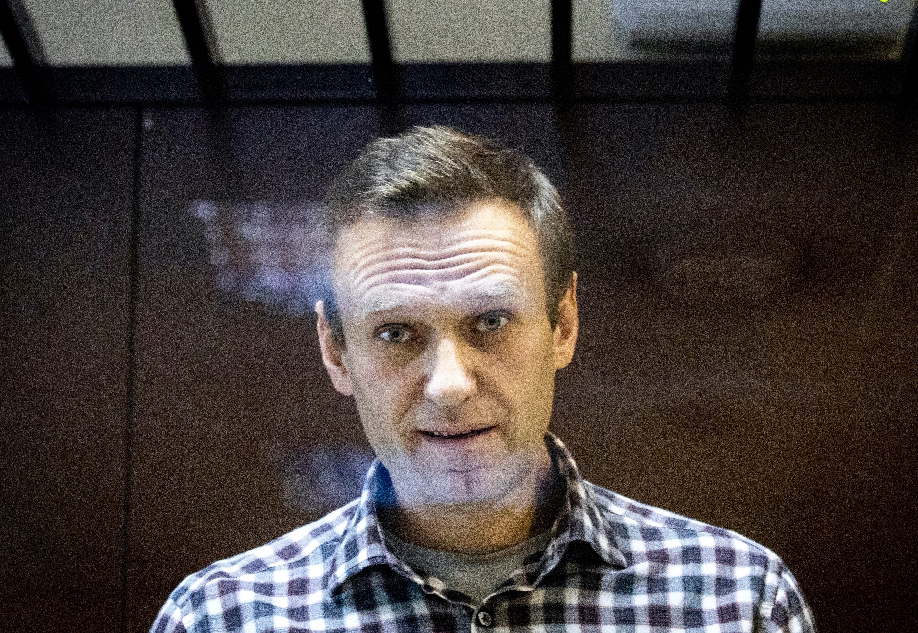 Russia's Navalny asks court to end prison security checks 2